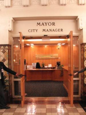 Mayor's and City Manager's office
